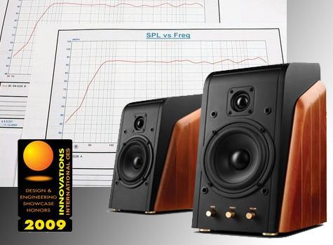 SWANS Aktiv-Monitor-Lautsprecher