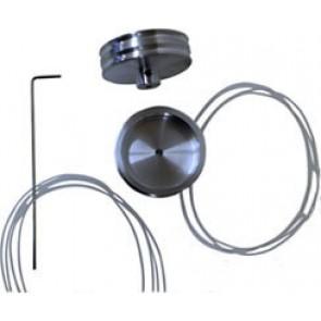 Acoustic Solid Doppelpulley mit zwei Antriebsriemen