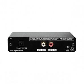DSPeaker AntiMode 8033 Cinema, Subwoofer Einmeßelektronik
