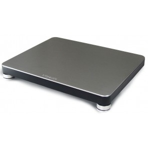bFly-Audio, BaseTwo Gerätebasis-black-front