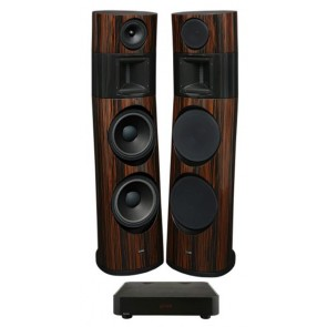Ayon Audio Black Fire XS Standlautsprecher