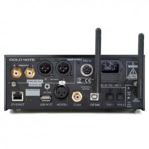 Gold Note DS-10, D/A Wandler, Streamer, Vorverstärker und Kopfhörer-Verstärker, Highlight !