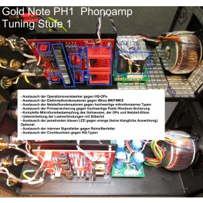 Gold Note PH-1, Phonovorverstärker, A&V-Highlight !