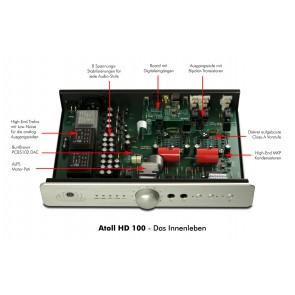 Atoll HD 100, Kopfhörervorverstärker / Vorverstärker / DAC