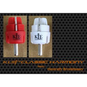 Eichmann, KLE Innovations Copper Harmony, Cinchstecker mit versilberten Kupferkontakten, Paarpreis, A&V-Tip