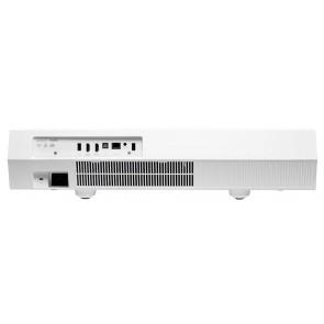 Optoma CinemaX P2, HDR-fähiger Ultrakurzdistanz Laserbeamer mit 4K-Enhanced Technologie und 3D, der bessere Flachfernseher !