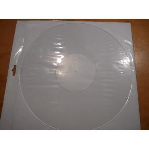Transparente Plexi Plattentellerauflage