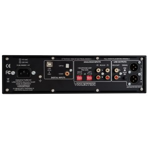 Violectric DHA V380, Kopfhörerverstärker, Vorverstärker und D/A-Wandler
