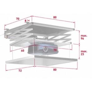 Beamer Deckenlift VI-CO 95cm Hub