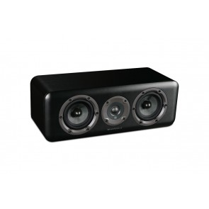 Wharfedale D300C-black-side-front