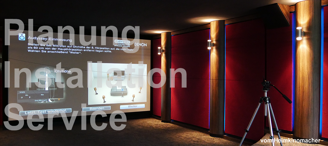 Heimkino, Beratung, Service, Installation