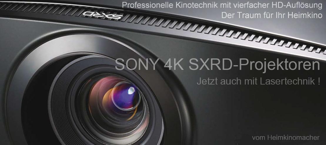 Sony VPL-VW260ES, VW360ES und VPL-VW760, die besten UHD 4K-Beamer