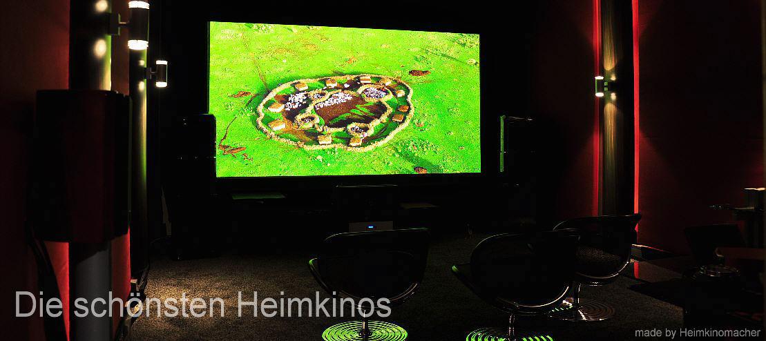 die schönsten Heimkinos, inclusive Beratung, Vorführung und Installation
